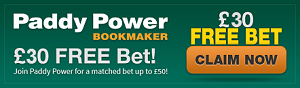 paddy power free bet