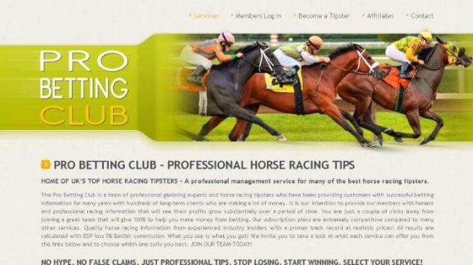 pro betting club review
