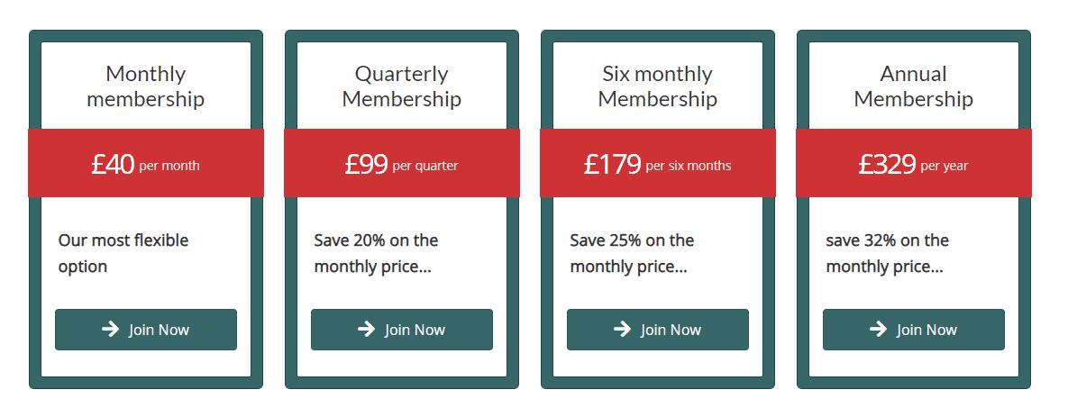 cleeve racing membership prices
