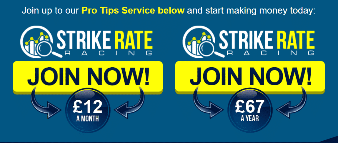 strike rate racing join now