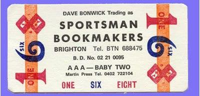 satchel bookie ticket